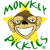 Monkey Pickles Mascot