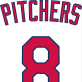 Pitchers Hit Eighth